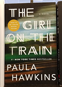 Cover of the thriller novel The Girl on the Train by Paula Hawkins