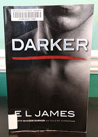 Cover of the erotic novel Darker by E L James