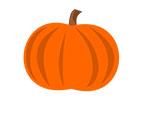 Illustration of a pumpkin saved as a JPG